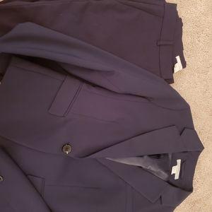 H&M Navy Blue Suit